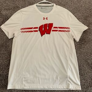 Under Armour Wisconsin Badgers Shirt (L)